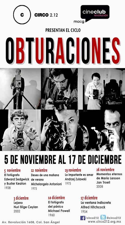 Ciclo Cine Obturaciones
